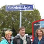 Karin Steffan, Brgm. Lothar Quast, Gabriele Thirion-Brenneisen (Vorsitzende der Lokalen Agenda)