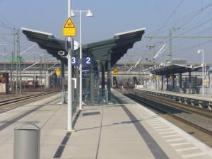 S-Bahn-Haltepunkt Mannheim Maimarkt/Arena