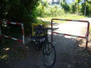 Durchlass zwischen Feldbergstraße und Hans-Sachs-Ring NACHHER